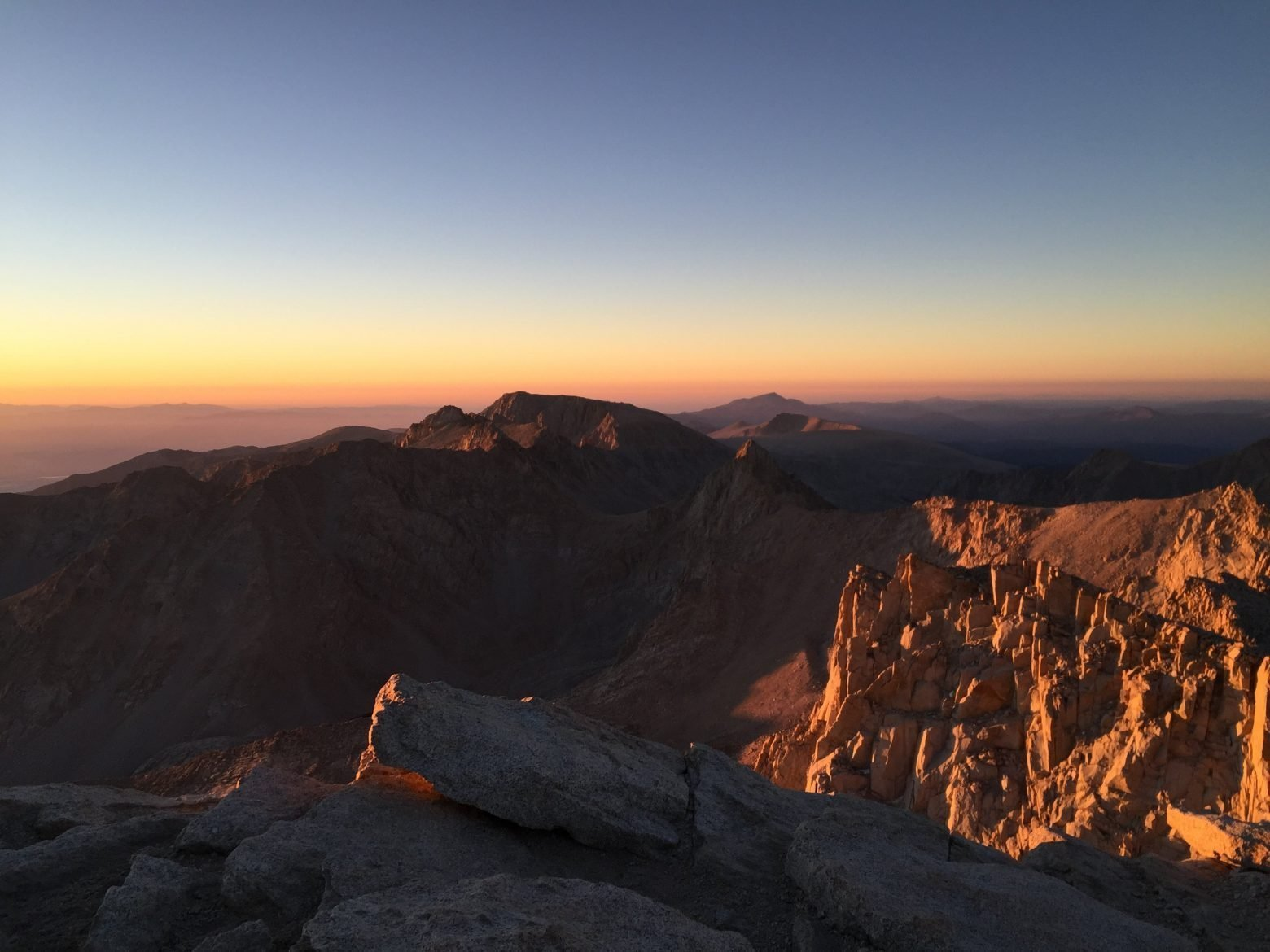 Sunrise on the summit of Mt. Whitney (21)