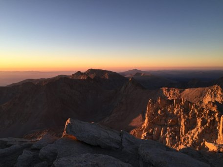Sunrise on the summit of Mt. Whitney (21)