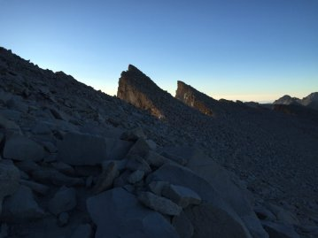 The Needles on Mt. Whitney (1)