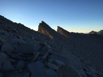 The Needles on Mt. Whitney (1)
