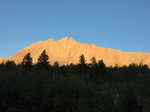 View from Tyndall Creek