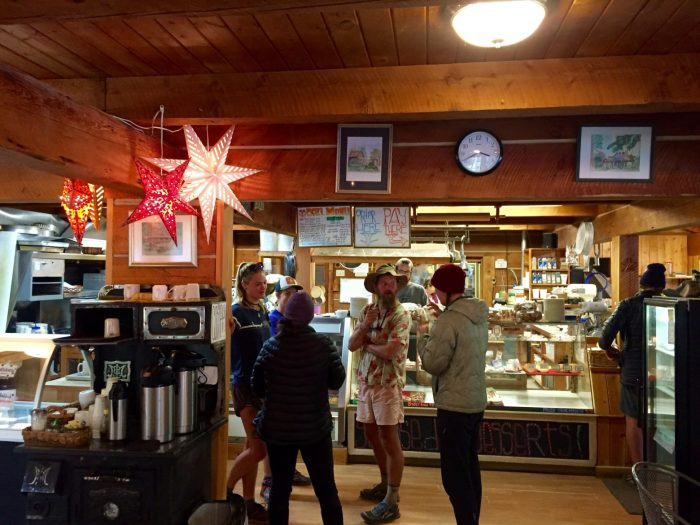 Inside the Stehekin bakery full of delicious treats