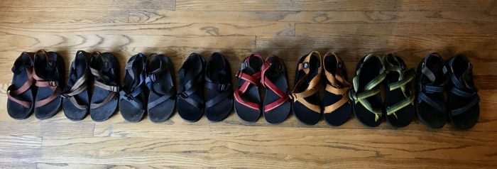13 years of Mountain Man's hiking sandals