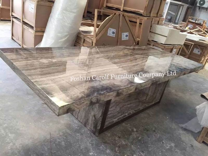 Black Marble Large Dining Table 4 Pieces From China Stonecontact Com