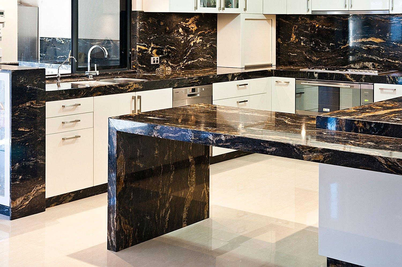 Cosmic Black Granite kitchen worktops from Stone Culture on Black Granite Countertops  id=37196