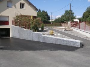 Parement mur exterieur pour une maison