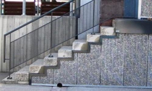 Parement De Mur Et Habillage En Gabion | Stonefence