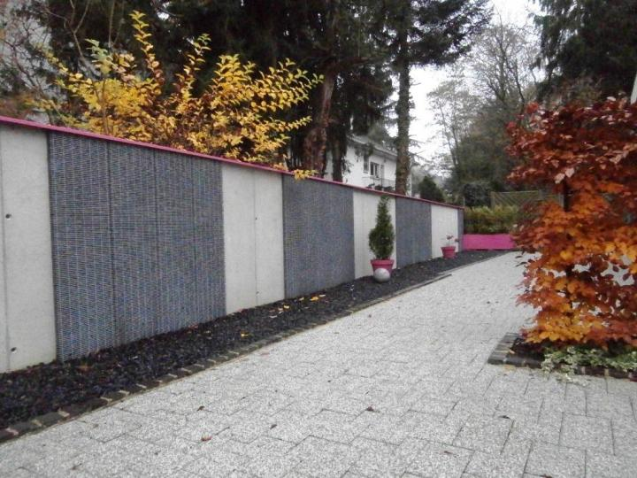 Mur Gabion à Mulhouse