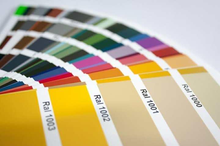 couleurs RAL pour les gabions