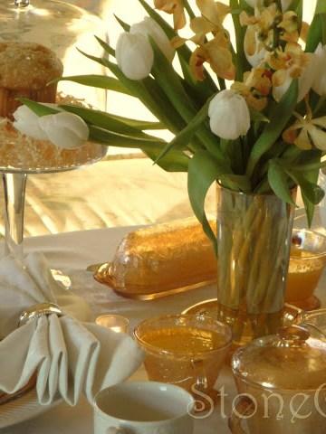 Breakfast Tablescape