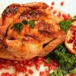 Pomegranate Glazed Cornish Game Hens