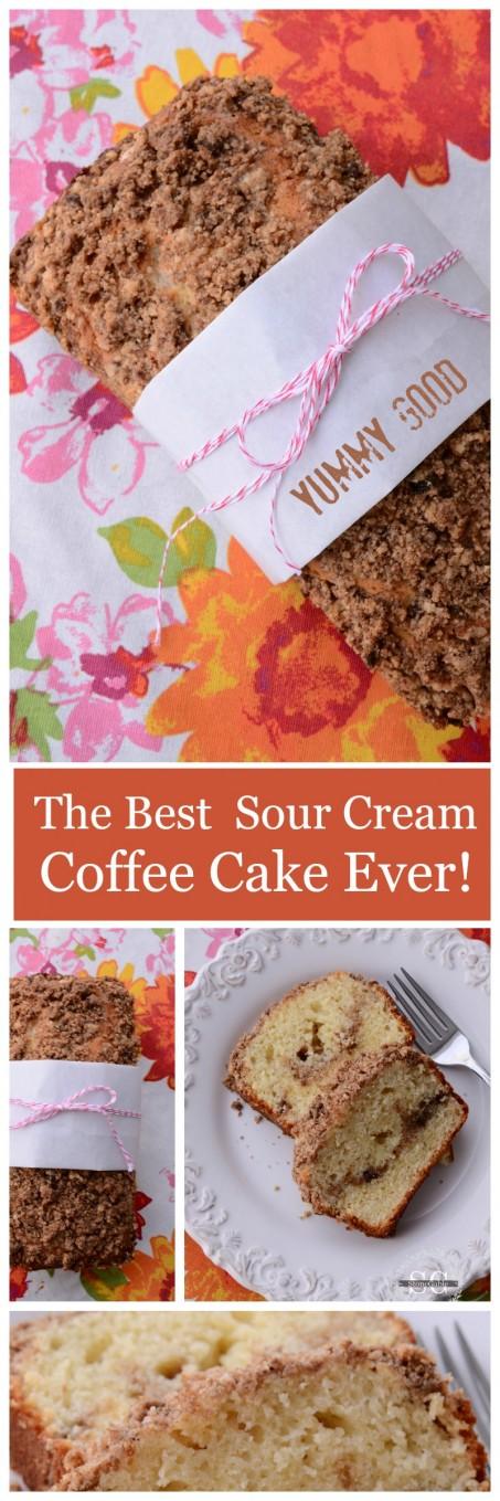 Sour Cream Coffee Cake Ina Cool Upside Down