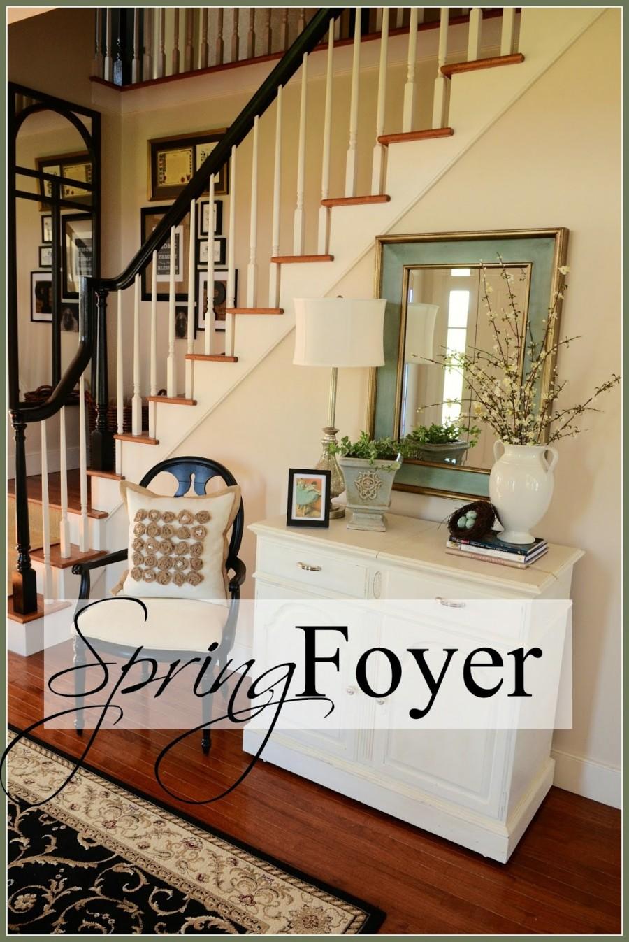 Spring Foyer Stonegable
