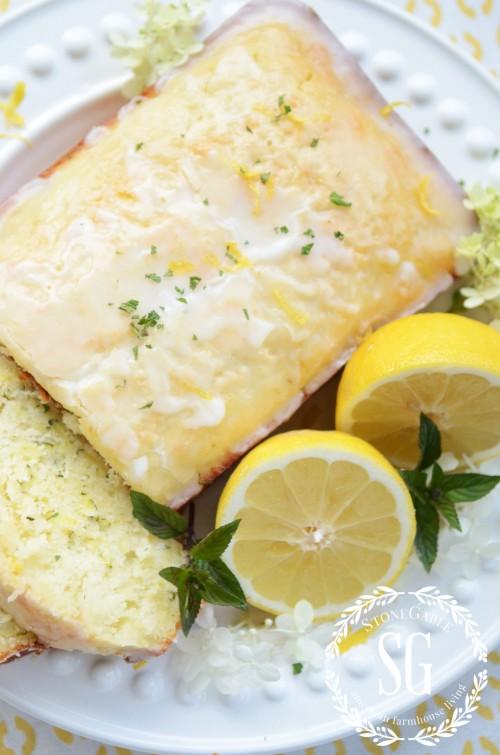 Glazed Lemon Zucchini Bread-whole bread-stonegableblog.com
