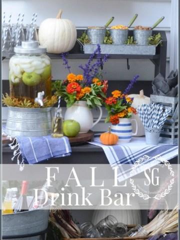 FALL DRINK BAR