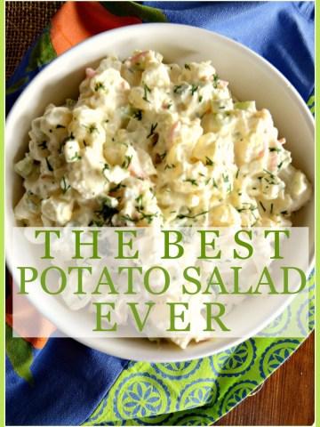 THE BEST POTATO SALAD EVER… NO KIDDING!