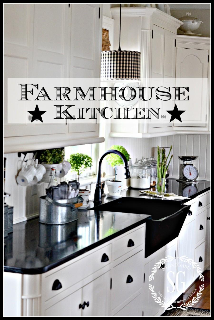 FARMHOUSE KITCHEN - StoneGable on Farmhouse Countertops  id=84248