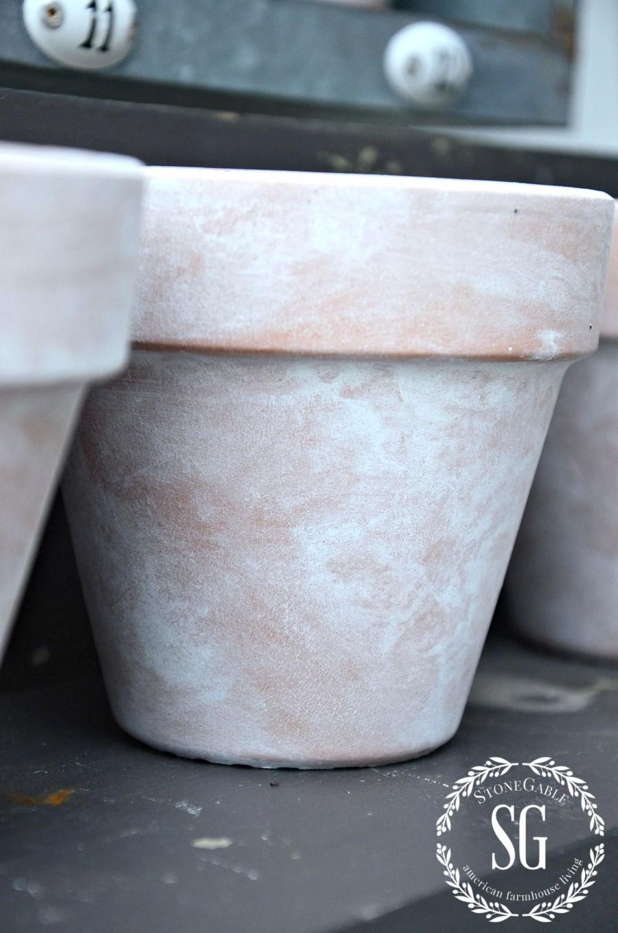 Acrylic Paint Terracotta Pots