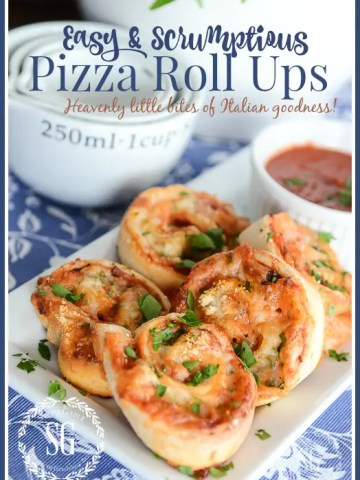 EASY AND DELICIOUS PIZZA ROLL UPS