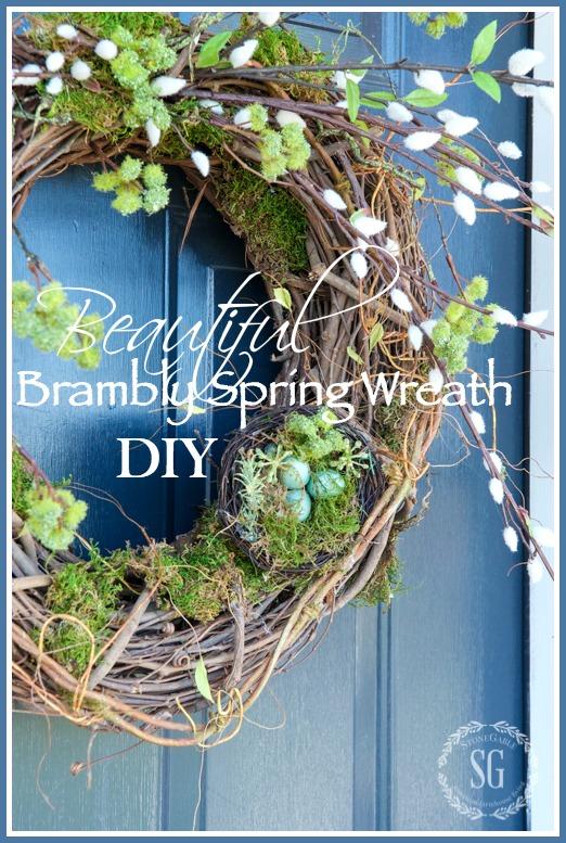 Spring Wreaths Diy Farmhouse