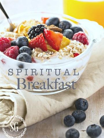 SPIRITUAL BREAKFAST