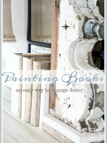 PAINTING BOOKS DIY