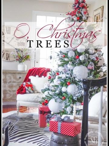 O, CHRISTMAS TREES