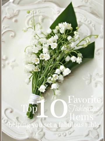 TOP 10 STONEGABLE FAVORITE TABLESCAPING ITEMS