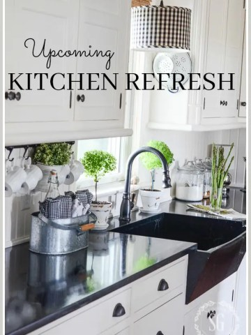 UPCOMING KITCHEN REFRESH