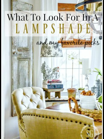 WHAT TO LOOK FOR IN A LAMPSHADE AND MY FAVORITE PICKS