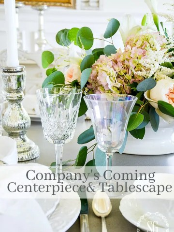 EASY COMPANY'S COMING CENTERPIECE AND TABLE