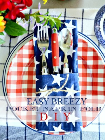 EASY PEASY POCKET NAPKIN FOLD