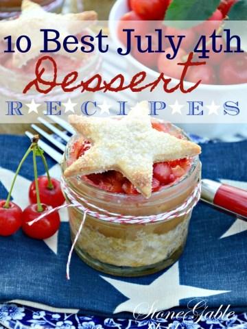 10 BEST JULY 4TH DESSERTS