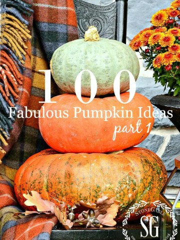 100 FABULOUS FALL PUMPKIN IDEAS, PART I