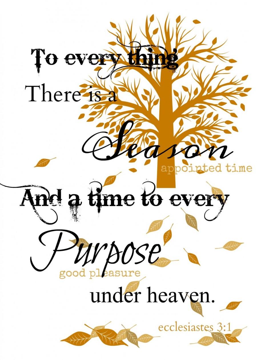 ECCLESIASTES 3:1 FREE PRINTABLE