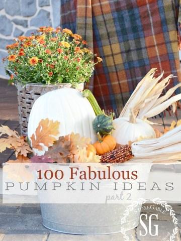 100 FABULOUS PUMPKIN IDEAS, PART II