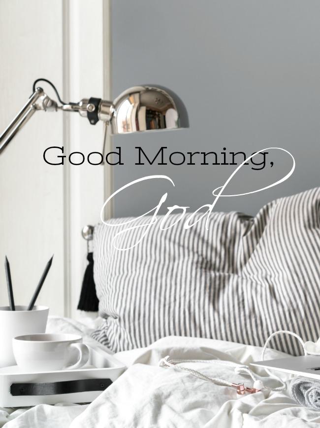 Good Morning God Stonegable