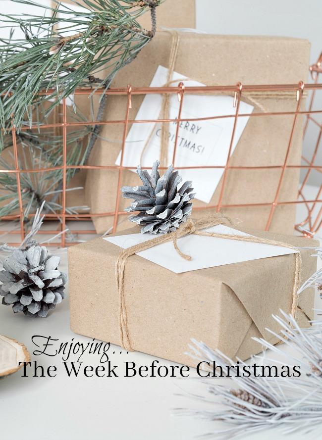 Practically Speaking: Enjoy the week before Christmas
