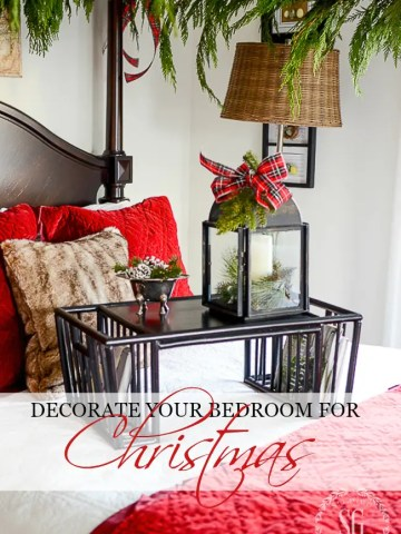 DECORATE YOUR BEDROOMS FOR CHRISTMAS