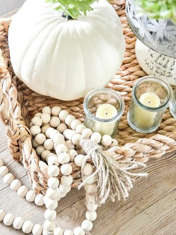 STYLING A NATURAL FALL VIGNETTE