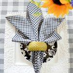 Favorite Summer Napkin Folds Stonegable