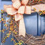 7 Fabulous Fall Door Wreaths Diy Stonegable