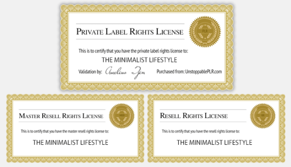 The Minimalist Lifestyle - Done-For-You PLR Package Review – GRAB THE AMAZING BONUSES: Brand New Done-For-You Private Label Rights Package And Keep 100% Of The Profits