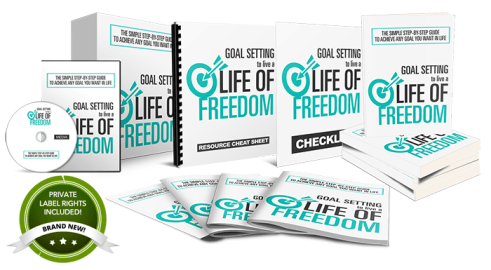 Goal Setting To Live a Life of Freedom - Done-For-You PLR Package