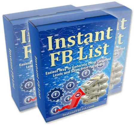 Instant FB List Software Review – IS IT REALLY WORTHY TO GET? : Discover The Easiest Way To Generate Ultra Targeted Leads And Sales From Facebook