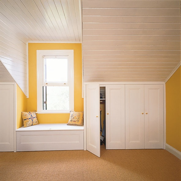 attic as storage area