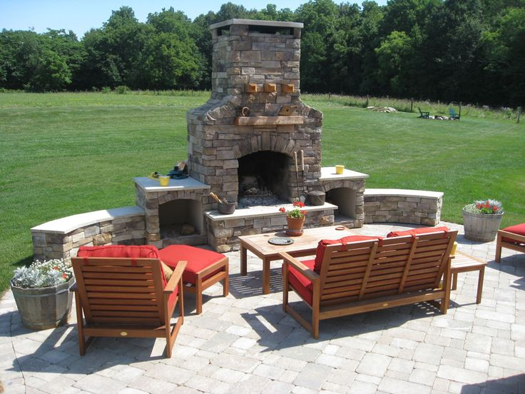 Outdoor Fireplace Plans - Building Your Own Fireplace on Building Your Own Outdoor Fireplace id=14740