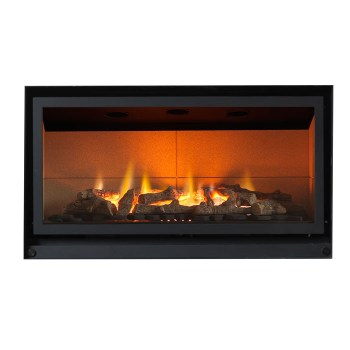 Valor Inspire 800 black hiw gas fire