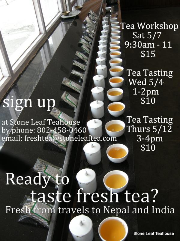 Nepal and India Tea Workshop Series 2016