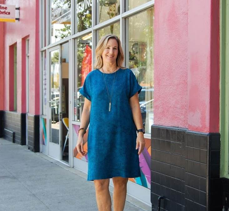 The Stevie Tunic — A Go-To Pattern for Any Fabric!